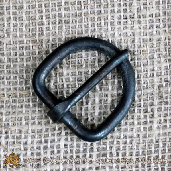 Handgeschmiedete D-Schnalle für 20mm Riemen