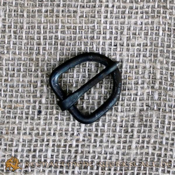 Handgeschmiedete D-Schnalle für 15mm Riemen