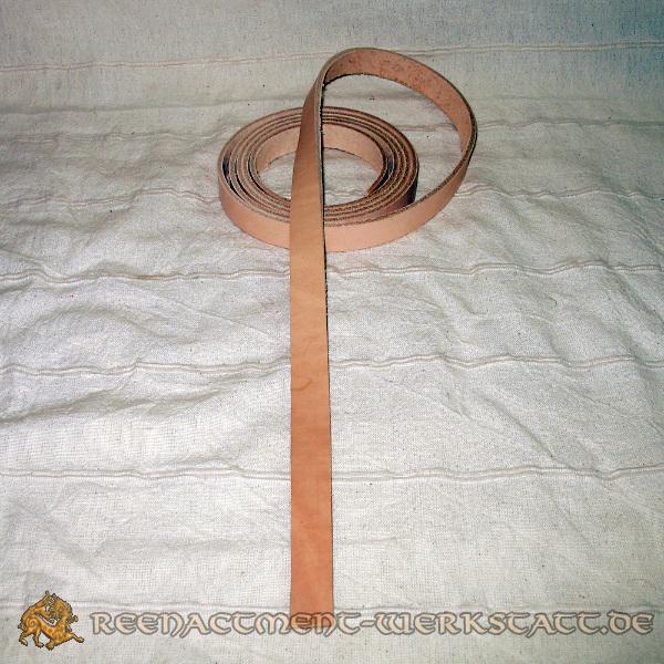 Gürtelriemen Langgürtel natur 15 mm