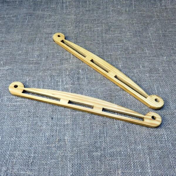 Ein Paar Wikinger-Taschenbügel - große Version