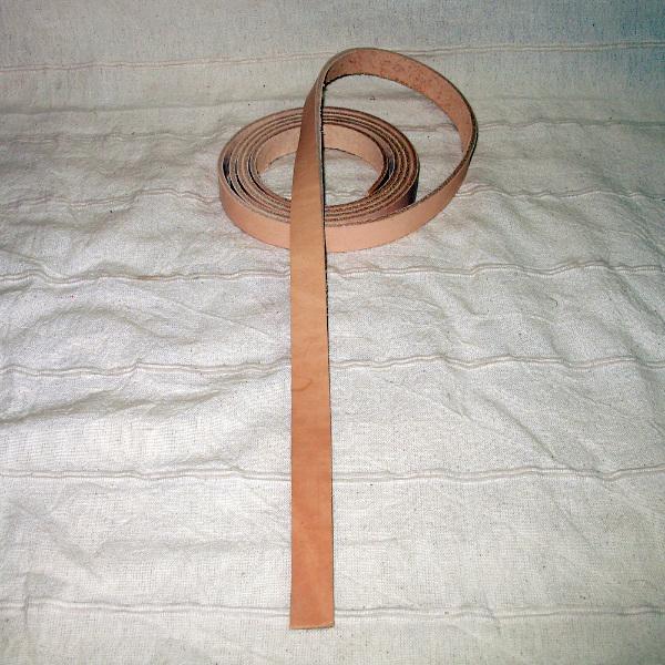 Gürtelriemen Langgürtel natur 20mm
