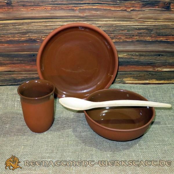 Ton-Keramik-Set 4-teilig