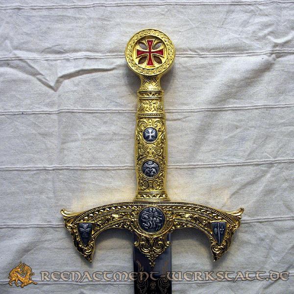 Templer-Schwert Gold