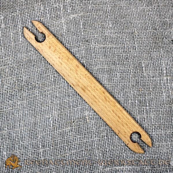 Webschiffchen aus Buchen-Holz für Brettchenweben
